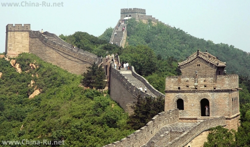 Гланый символ страны - Великая китайская стена