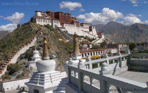 Сказочные тибетские дворцы