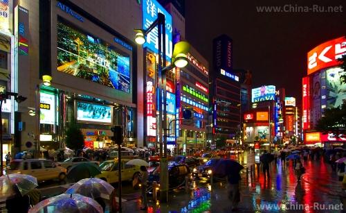 Ночные улочки Гонконга