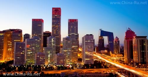 Современная застройка Пекина