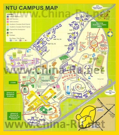 Схема Наньянского технологического университета